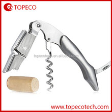 factory wholesale red wine bottle opener wine opener corkscrew plastic corkscrew wine opener