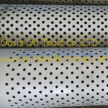 10mm Hole Size Perforated Steel Casing Pipe