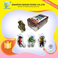 assorted cartoon shape compressed chocolate confectionery