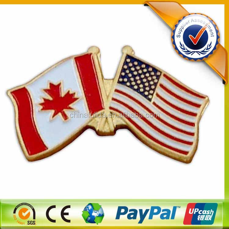 country friendship flag custom ,flag badge,flag pin/hard enamel lapel pins/gold badges
