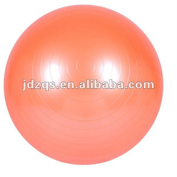45cm fitness ball/gym ball/anti-burst yoga ball manufacturer price