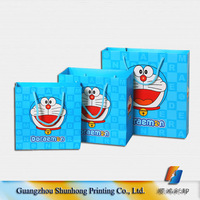 High Quality Cartoon Shopping Paper Bag/Gift Paper Bag with OEM Logo