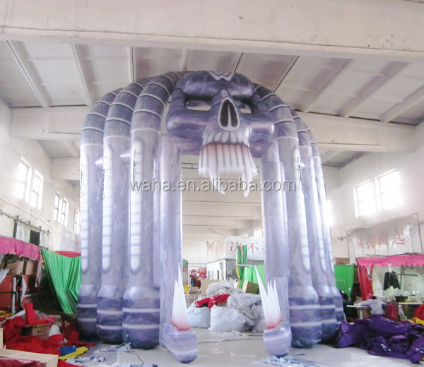 2015 new hot sale halloween inflatable arch,inflatable archway