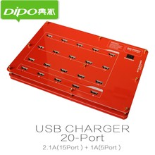 10/16/20/40/60 port 2.1a usb charger station 12v 14v 15v dc mobile phone accessories charging