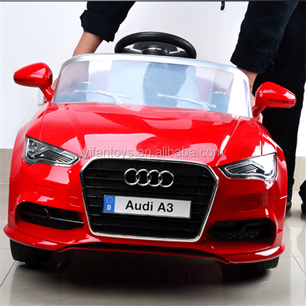 New Kids Car Audi License Ride On Car Battery Powered
