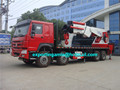 brand new left hand drive howo knuckle boom 80 ton hydraulic truck crane for sale