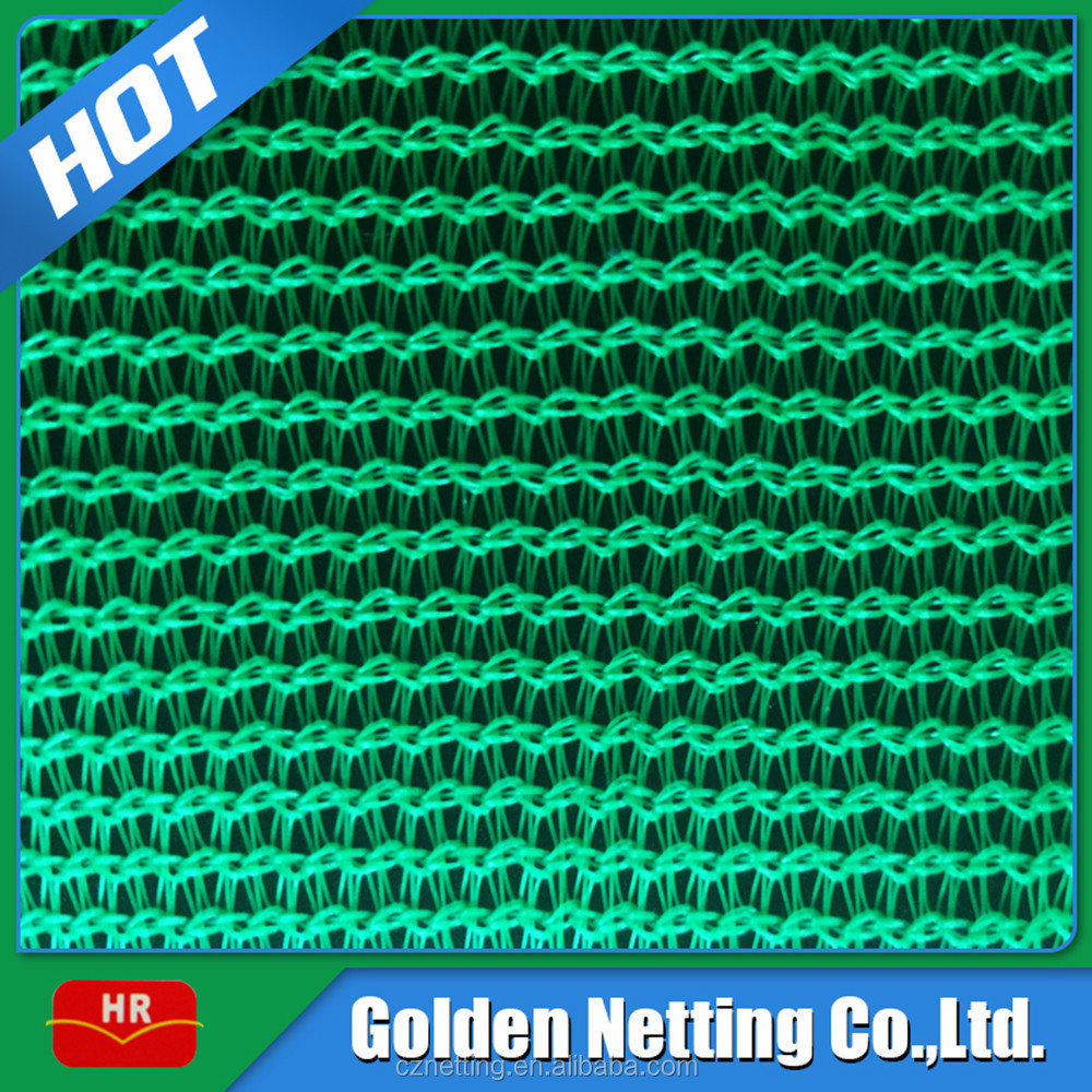 130g Green HDPE Plastic Construction Safety Net For Balcony Protection