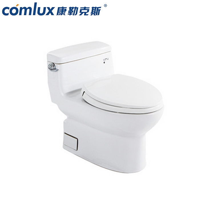 Gold supplier elongated cyclone flushing ceramic kid cheap one piece wc toilet commode designs made in China