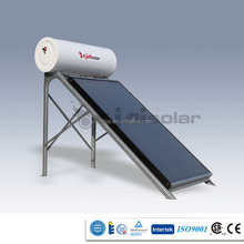 Compact Unpressurized Flat Panel Solar Water Heater System With One Flat Panel(150L)