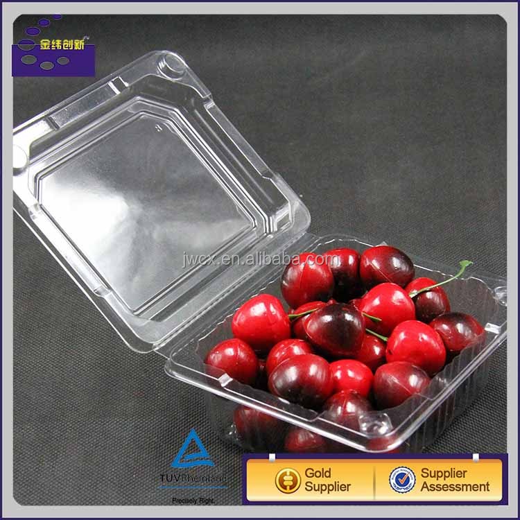 plastic blueberry packing box clear plastic vegetable box grapes packing boxes