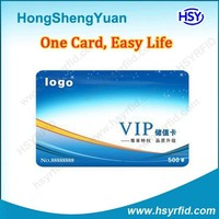 PVC Material ISO 0.8mm or 1.8mm Proximity EM RFID cheap key cards with ID number
