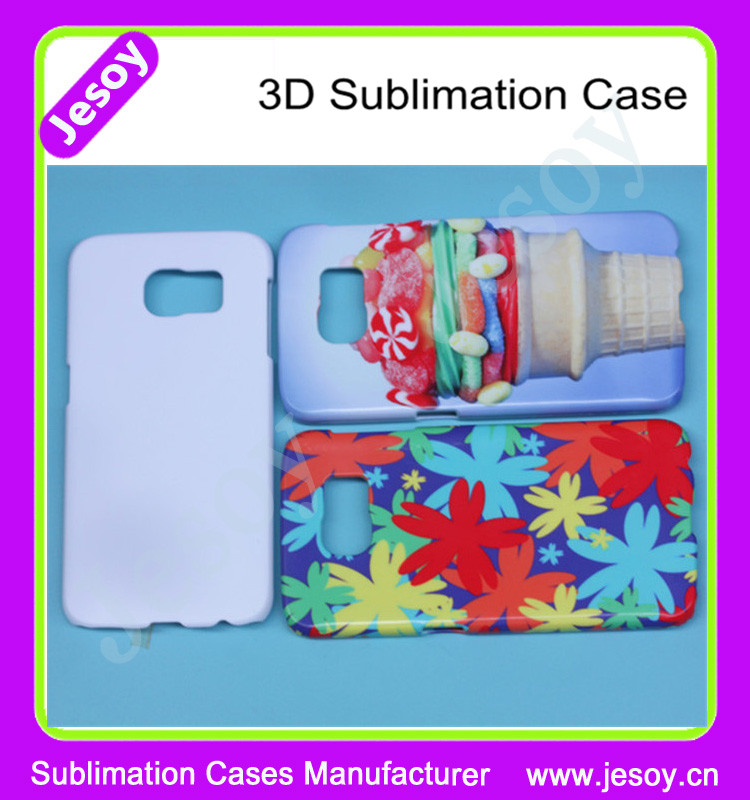 JESOY Customized Sublimation Case For Samsung Galaxy S4 S5 S6 S7 Mobile Phone Cover Cases