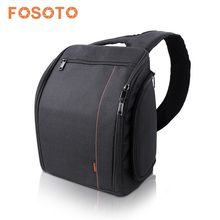 Fosoto 2017 Camera Sling Backpack Bag for Canon Nikon Sony DSLR