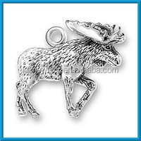 Popular David's deer charm animal charms for bracelet