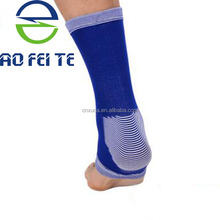 Hot sale & high quality Knitting elastic nylon basketball foot and ankle support brace