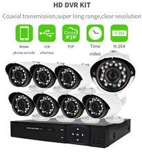 Vitevison security camera system with IR waterproof <strong>dvr</strong> camera of H.264 8ch CCTV <strong>DVR</strong> Kit