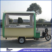 New condition electric 3-wheel outdoor Mobile restaurant cart for sale