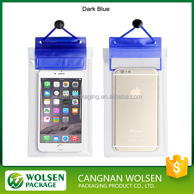 2016 hot sale new products cheap PVC mobile phone waterproof bag