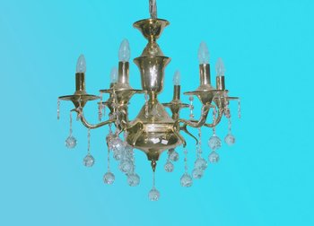 French style Brass Chandeliers 010