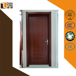 Hinge invisible/visible finished surface finishing cheap mdf doors,solid wood door,safety door design