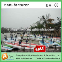 Hottest!!! Popular sale water park games entertainment 2013 New Water Bike