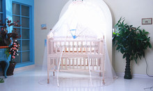 High-grade baby carriage crib with cradle
