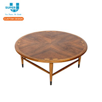China Factory Retail Round Removable Clothing Display Table