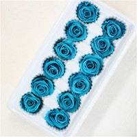 Best selling good quality mini rose head for christmas gift
