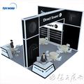 Detian Offer booth manufacturer exhibition fair stand tension fabric display