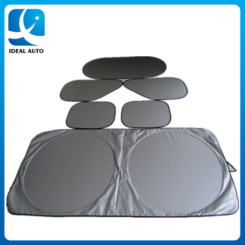 polyester car sunshade windshield cover