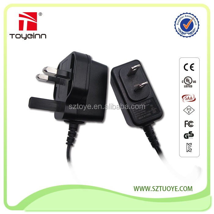 USB power adapter wall mount USB charger 5V 1A with EU/UK/JP/US plug for iphone samsung cellphone USB power adapter