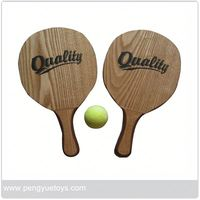 Py5254 Plastic Beach Racket Set From