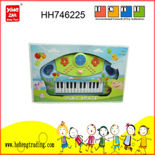 Musical toys kids cartoon electronic organ,toy plastic musical instrument