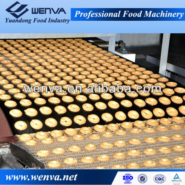 commercial Hybrid natural gas biscuit baking oven for bread and cake