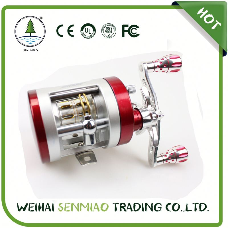 SENMIAO 5.2:1 Saltwater Trolling Fishing Reel with Line Counter