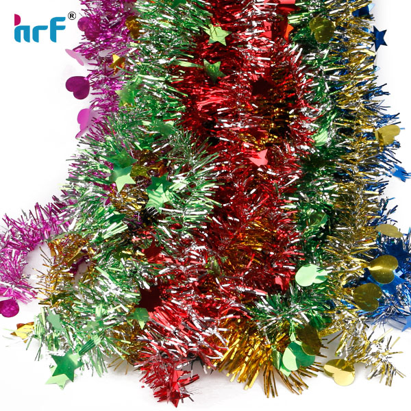 1.3M Christmas Tree Xmas Party Decor Home Decoration Hanging Tinsel Pine Garland