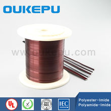 CE wire trade assureance supplier OUKEPU transformer enamelled aluminum wire