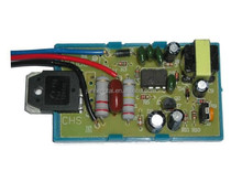 Three cable crt tv power supply module