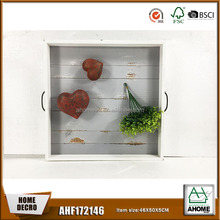 Environmental wood tray for decoration