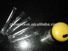 2014 Individual Polybag Wrapped Single Sharp Plastic Toothpicks