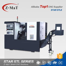 Chinese new STL6 machine tools tailstock small mini metal cnc lathe for sale