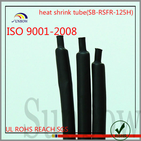 with iso 9001-2008 standard ul approval flexible flame retardant pet optical fiber and heat shrinkable braided wire sleeving