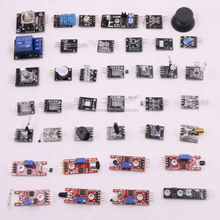 37pcs Sensor Kit Active Buzzer Module Game Joystick Module