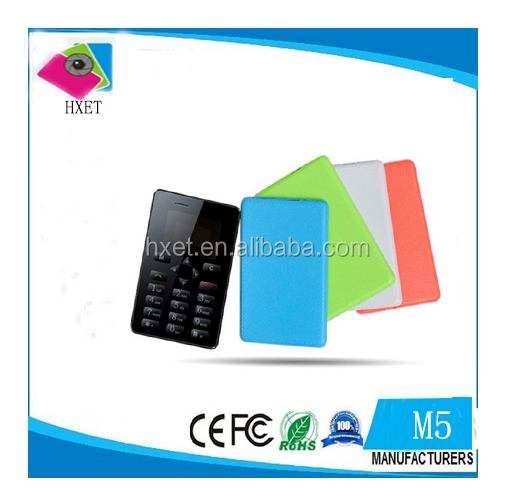 Low Price M5 China Mobile Phone 1 inch Card Phone