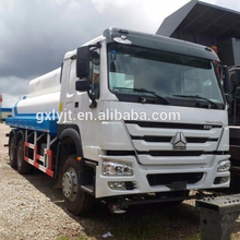 SINOTRUK HOWO water bowser truck, used water tank truck, truck mounted water well drilling machine A-4-03