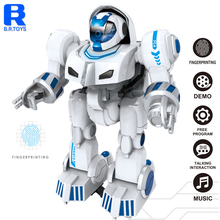 Infrared remote control smart robot toy of fingerprint touch for kids