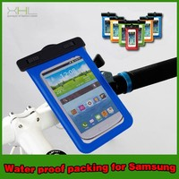 Hot new products waterproof cell phone cases, mobile phone PVC waterproof bag