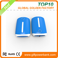 Factory supply 20000mah dual USB cheap wallet type mobile power bank