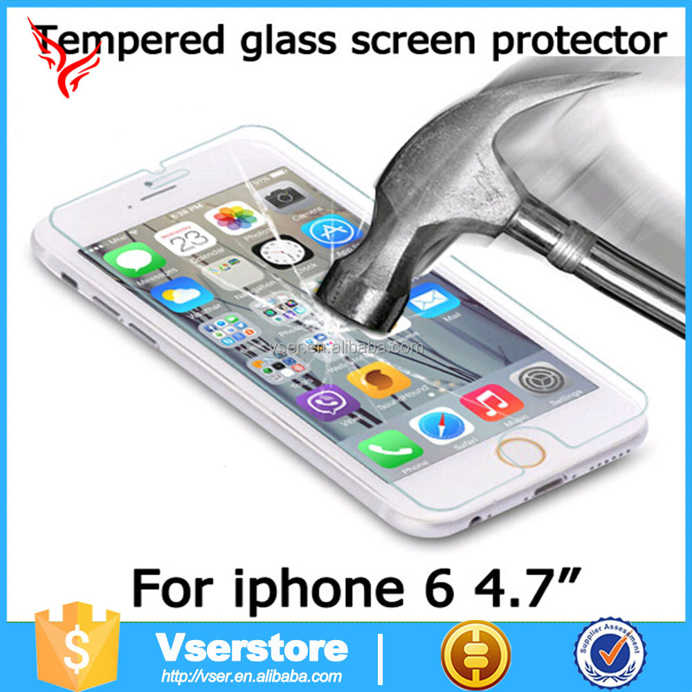 0.3mm For Iphone 6 Tempered Glass Good Quality <strong>Fashionable</strong> For Iphone 6 Tempered Glass Screen Protector