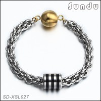 mens bracelet jewelry stainless steel chainmaille bracelet